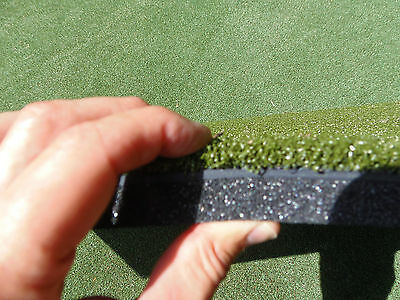 """2'x4' 24""""x48"""" Commercial Golf Stance Mat  Optishot Golf Simulator 1.25"""" Thick"""