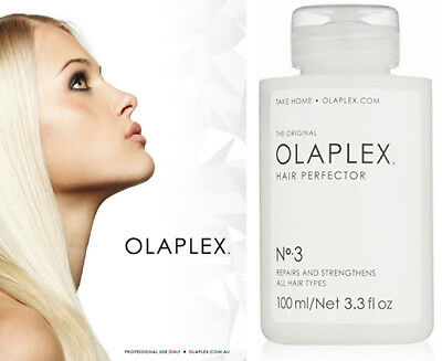 OLAPLEX NO.3 HAIR PERFECTOR 100ml NEW & SEALED 100% AUTHENTIC Original Bottle
