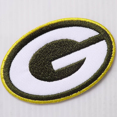 """*2.3/4""""x1P. Green Bay Packers Embroidered Iron On Patch Badge Apparel"""