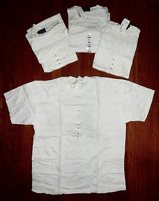 NEW $27.96 SMITH'S WORKWEAR LOT of 4 HEAVY WEIGHT/ DUTY CREW NECK T SHIRTS Large