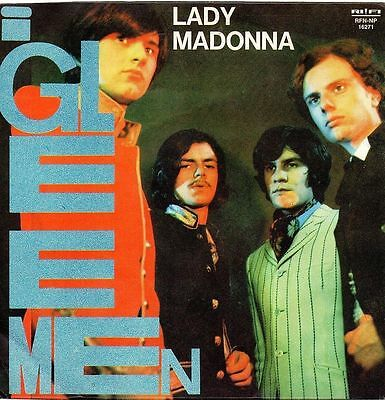 I Gleemen-Lady Madonna (Beatles Cover)/Tutto Risplende In Te 45 giri NM Beat