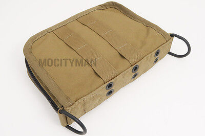 USMC Military Coyote Field Notebook Pouch Case Bag - Genuine - NEW - USA Made