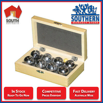Bocce Set - Chrome Mini Perfect Outdoor Sport