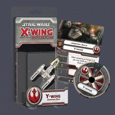 Star Wars X-Wing Miniatures Game Expansion Pack - Y-Wing - Brand New in Pack
