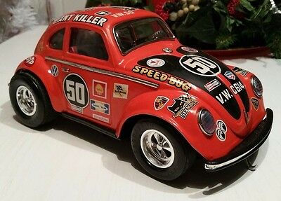 Taiyo Vintage, Volkswagen Speed Bug Giant Killer ~ Original Very Rare