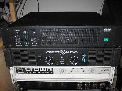 crest audio ca4 amplifier