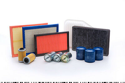 Holden Astra TS 1.8 2L Cartridge Oil(x2), Air Fuel Cabin Pollen Filter