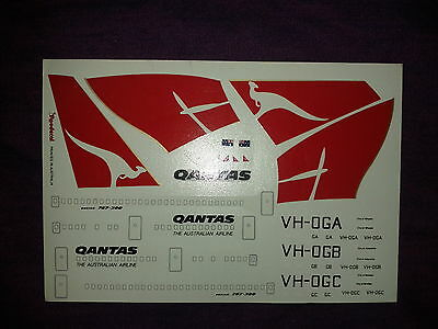 Roodecal 1/200th Scale Qantas B767-300 Decal Sheet