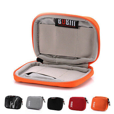 Portable USB Flash Drive Storage Travel Carrying Bag Organizer Case Pouch New