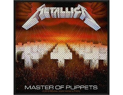 METALLICA master of puppets - 2013 - WOVEN SEW ON PATCH official merchandise