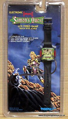 EXTREMELY RARE Castlevania II Tiger Electronics Video Game Watch Simon's Quest