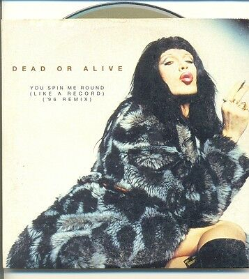 DEAD OR ALIVE You Spin Me Round '96 Remix RARE AUS Card CD Single