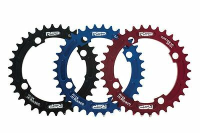 RSP CLINGRING NARROW WIDE CHAINRING Red 34T