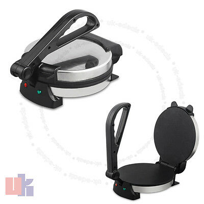 The Excellent 8 Inches Roti Chapati Fulka Maker Non-Stick Electic Machine UKED