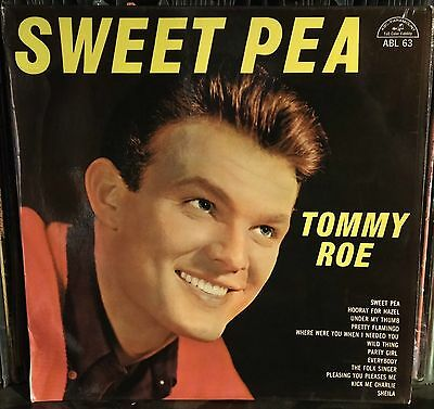 Tommy Roe-Sweet Pea Lp 1966 Beat Original South Africa Issue Mono