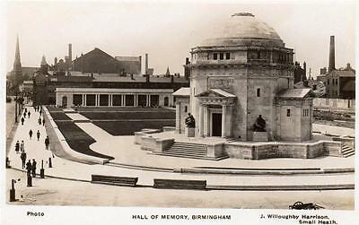 Birmingham Hall of Memory unused RP old pc J Willoughby Harrison