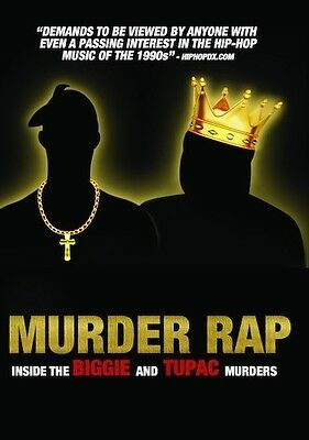 Murder Rap: Inside The Biggie & Tupac Murders (2016, DVD NUEVO) (REGION 1)