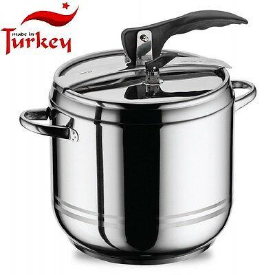 Pressure cooker 12 liter Stainless steel Made In Turkey