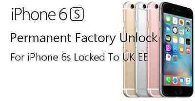 EE / Orange / T-Mobile UK iPhone 6S / 6S+ / EE  Unlocking Service Unlock Code
