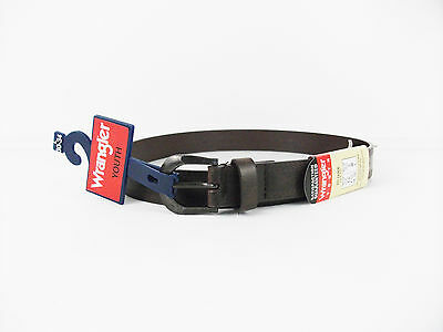 New Wrangler leather belt youth