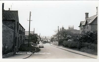 Ashwell End Whissendine Rutland Real Photo unused old postcard good condition