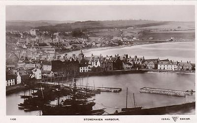 Stonehaven Harbour unused RP pc Davidson Ideal Series