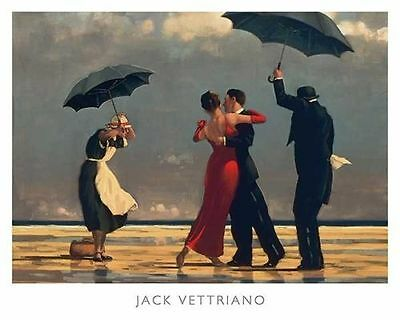 The Singing Butler by Jack Vettriano High Quality Print 50 x 40cm Genuine 2016©
