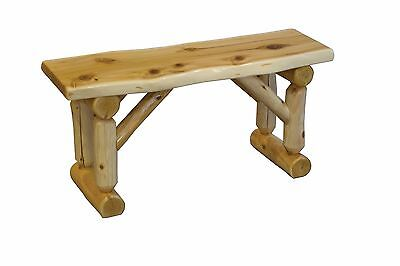 Fabulous Rustic Log Slab Pine Childrens Bench Kids Wooden Stools Theyellowbook Wood Chair Design Ideas Theyellowbookinfo