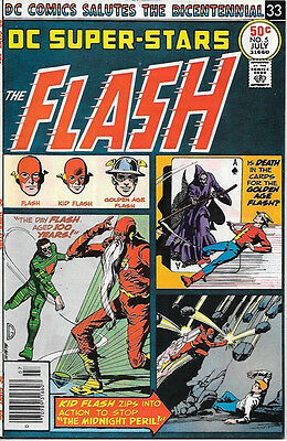 DC Super-Stars Comic Book #5 Presents The Flash DC Comics 1976 VERY FINE