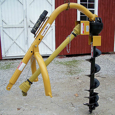 New Tarter 9 In.Post Hole Digger, 3 Point, LOW COST SHIPPING IS AMAZING + FAST