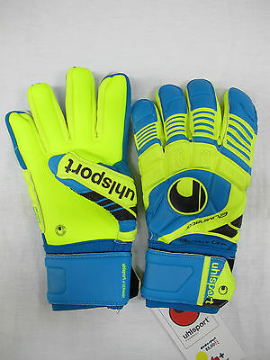UHLSPORT guanti portiere mod.ELIMINATOR ABSOLUTGRIP HN mis.10,5 marzo 2014