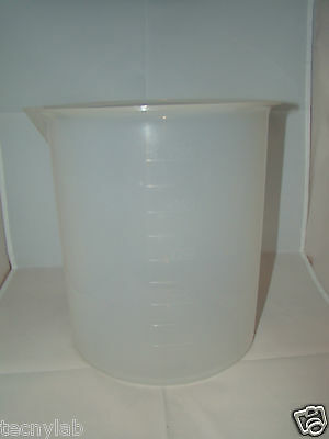 Vaso Precipitado 5000ml PP/Beakers PP 5000ml Low Form