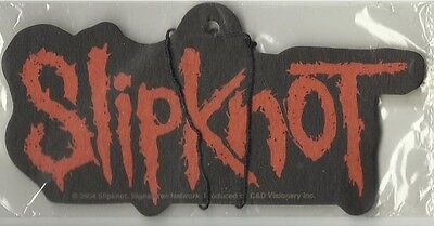 SLIPKNOT logo 2004 AIR FRESHENER official merchandise IMPORT sealed