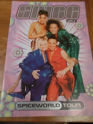 Spice Girls Spice World Concert Programme From 1998