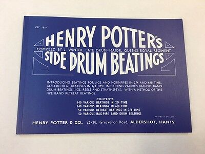 Potter's Side Drum Beatings