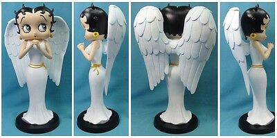 Extremely Rare! Betty Boop as Angel Polyresin Statue Figurine