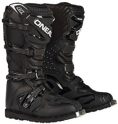 New O'Neal/Oneal Motocross/Offroad Rider Adult Boots, Black, Size US-11