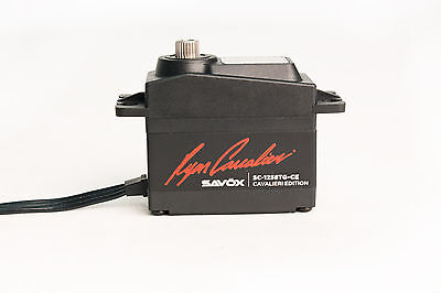 "Savox SC-1258TG-CE Ryan Cavalieri Standard Digital ""High Speed"" Servo Titanium G"