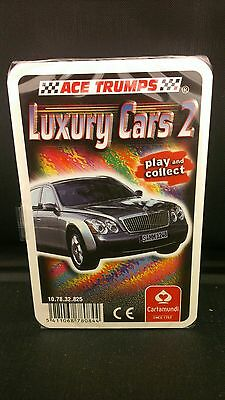 ACE TRUMPS Luxury Cars Play AND Collect
