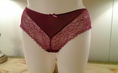 a51813033564 NEW NWT Lane Bryant Cacique Fuchsia Tulle - Back Cheeky Panty Size 22/24