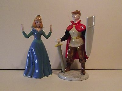 Sleeping Beauty Princess Aurora & Prince Phillip 30th Ann. Schmidt Figurines