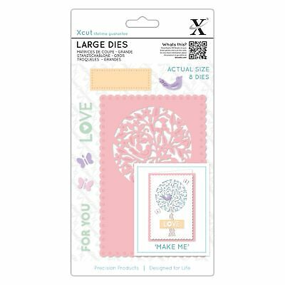 Xcut Folk Tree Large Die Set XCU504094