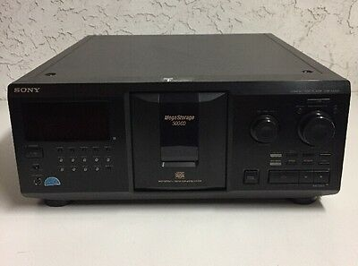 Sony CDP-CX355 Mega Storage 300 Multi Compact Disc Carousel CD Changer Player