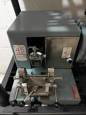 Lipshaw 45 Rotary Microtome with Blade holder