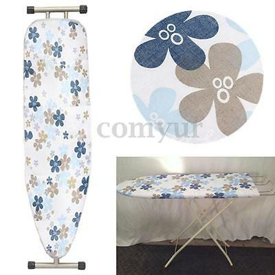 Large Ironing Board Cover Drawstring Cotton Easy Fit Elasticated Colorful Flower