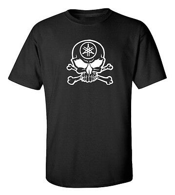 YAMAHA SKULL RACING  T-Shirt  Size S-5XL *FREE SHIPPING*