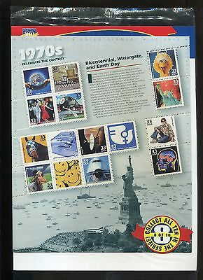 US Complete Sheet, MNH, #3189 The 1970's   us3189
