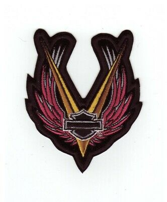 HARLEY Davidson Toppa//Patch modello Straight Wings