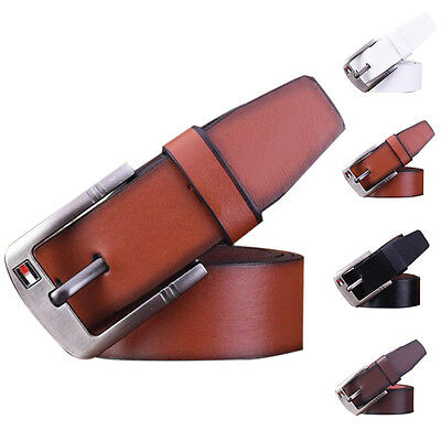 Marcas Cintos Luxury Belt Men Male Waist Strap Leather Alloy Buckle Top Quality