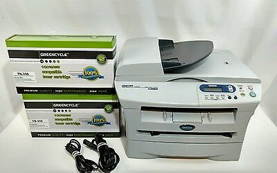 Brother DCP7020 Laser Copying Machine Printer Scanner 001108 page counter +Toner